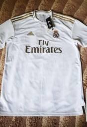 Camisa do Real Madrid original na etiqueta 130$