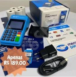 Título do anúncio: Máquinnha mercado pago point pró e mini chip