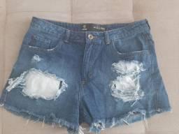 Desapegando!! Shorts jeans Feminino 42!!