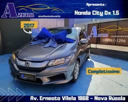 HONDA CITY  1.5 FLEX COMPLETO CÂMBIO AUTOMÁTICO CVT! PNEUS 0KM! BAIXA KM!!!