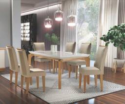 (3789) Mesa de Jantar Londrina 6 cadeiras whatsapp 99613=3789