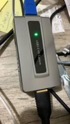 Título do anúncio: Placa de captura Ezcap287 hdmi para USB 3.0 para lives