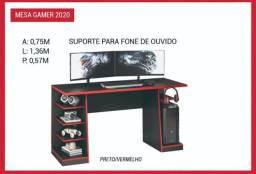 mesa gamer 2020 promoção