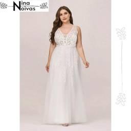 Vestido de Noiva Plus Size 44 46