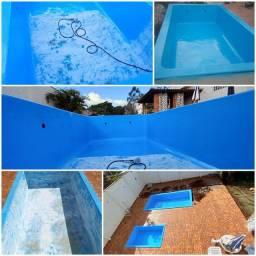 Pintura e reforma de piscinas