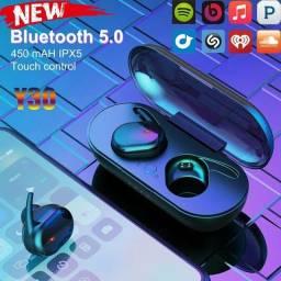Fones de Ouvido Bluetooth com Sensor Digital