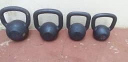 Kettlebells ferro fundido 7,00 o kilo