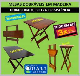Frete Gratis* - Jogos em madeira maçica - mesas e cadeiras