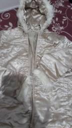 Título do anúncio: Casaco de frio cor modelo igual foto veste 14 anos