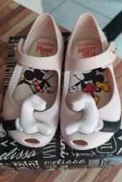 Mini Melissa Mickey tamanho 22