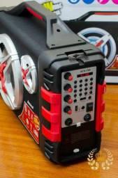 Caixa de som amplificadora AMVOX Potencia de 1.200