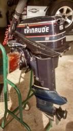 Motor de popa evinrude 15 Hp 93