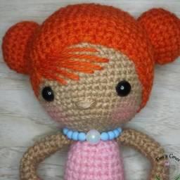 Doll amigurumi, Crochet doll, custom doll | Bonecas de crochê ... | 256x256