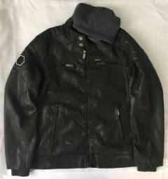 Jaqueta de Couro Masculina Dixie Cor Verde Escura Produto Novo Com Excelente Qualidade