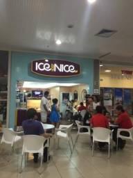 Franquia de sorvetes no Shopping Marilia