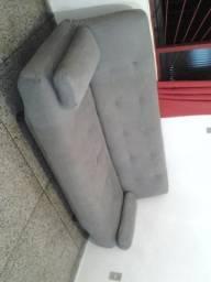Barbada pra hoje sofá cama semi novo