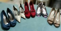Sapatos femininos tamanho 39
