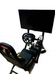Máquina Simulador de Carros Profissional Arcade Fliperama