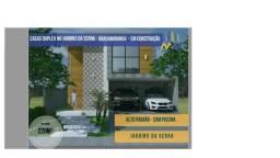 Casa Duplex Condomínio Jardim da Serra- Entrada Facilitada
