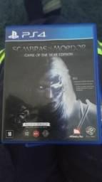 PS4 Sombras de Mordor comprar usado  Rio de Janeiro