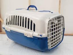 Caixa de transporte p cães e gatos seminova, muito boa, oportunidade