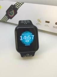 Relógio Smartwatch F8 IP67 mede Pressão batimentos cardíacos