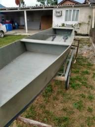 Vendo Bateira/Canoa de madeira super leve - 2020