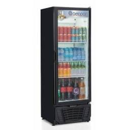 Expositor Freezer Vertical 414 litros Gelopar Produto Novo