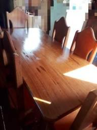 Mesa de madeira maracatiara nova