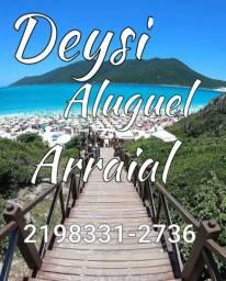 Alugo casa temporada em Arraial do Cabo