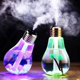 Título do anúncio: Lampada Umidificador Climatizador Aromatizador De Ar Luz Led