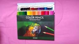 Lápis de cor 72 cores novo