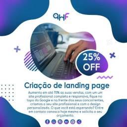Criação de landing page marketing para produtos e afiliados