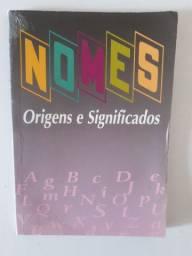 Livro sobre nomes, origens e significados (usado / em bom estado)