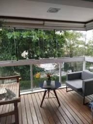 Apartamento com 3 dormitórios para alugar, 104 m² por R$ 2.700/mês - Jardim - Santo André/