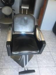 Cadeira hidráulica reclinável para salão ou barbearia