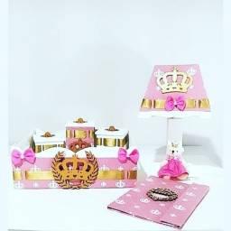 Kit higiene princesa com caderneta de vacinação ?