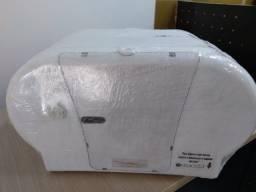 Suporte de papel higiênico duplo