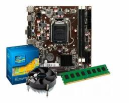 Kit Intel Core I5 2400 3.1 Ghz + Placa H61