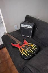 Guitarra Cruzer by Crafter e Amplificador Shelter