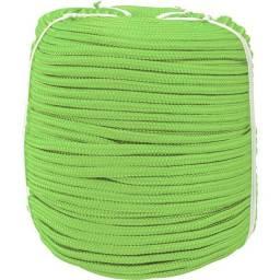 Corda caminhoneiro 8 mm x 228 m cor verde o metro