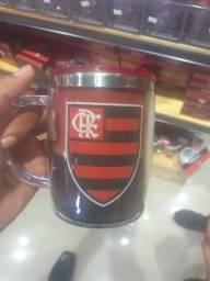 Caneca térmica Flamengo R$24,99