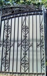 Portões com grades(reforçado)