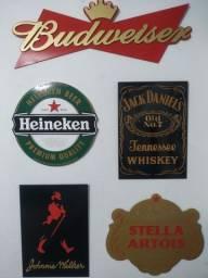 Placas Decorativas Cervejas