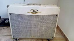 Título do anúncio: Amplificador Valvulado Crate V3212 Custom