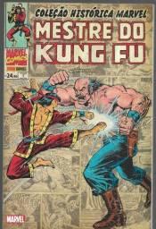 olx230 Coleção Histórica Marvel - Mestre Do Kung Fu - Vol. 1