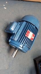 Motor elétrico trifásico 3 cv rpm 1160.