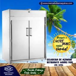 Título do anúncio: Geladeira de açougue Refrimate 600kg 2 portas Nova Frete Grátis