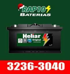 Bateria Heliar - Bateria das caminhonetas Hilux Triton