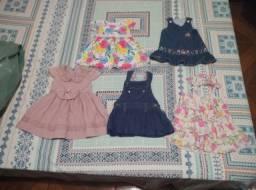 Título do anúncio: Qualquer Vestido de Menina Roupa de Bebê